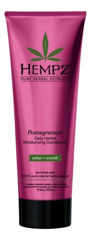 Кондиционер растительный увлажняющий и разглаживающий Гранат / Hempz Daily Herbal Moisturizing Pomegranate Conditioner