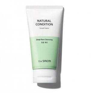 Пенка-скраб для глубокого очищения пор, 150 мл, The Seam Natural Condition Scrub Foam