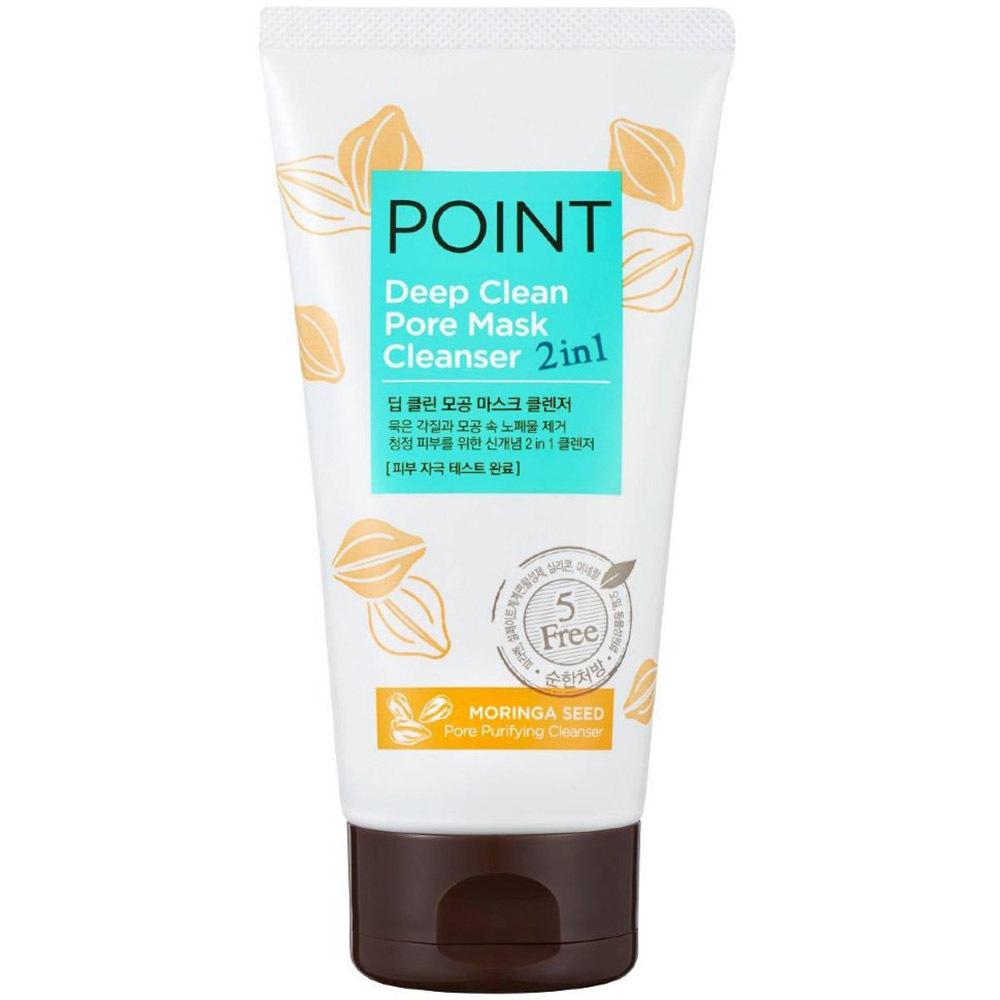 Маска-Пенка 2в1  Глубокое очищение для всех типов кожи лица