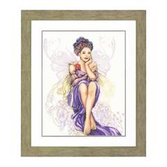 Lanarte Purple Butterfly Girl