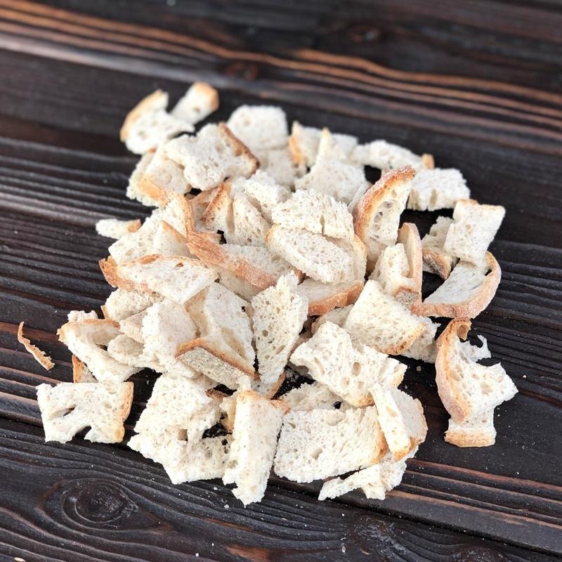 Фотография Сухари пшеничные бездрожжевые / 100 г купить в магазине Афлора