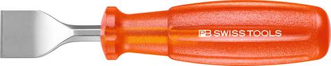 Шабер для уплотнений с лезвием из пружинной стали
