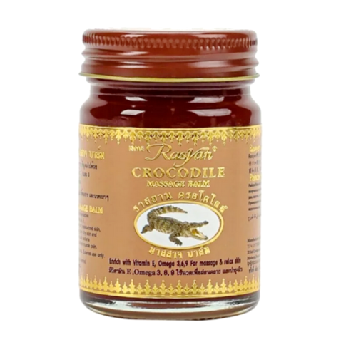Бальзам с крокодильим жиром Rasyan Crocodile Massage Balm, 50 гр