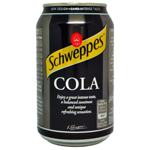 Schweppes Cola Швепс Кола 0,33 л