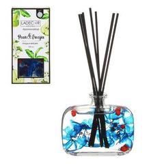 Аромадифуззор с палочками и декором LADECOR 100мл, 4 аромата