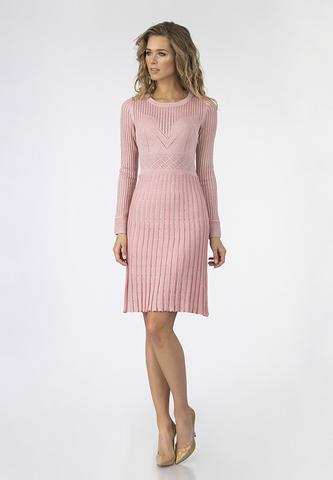 Платье плиссе с люрексом