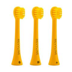 Детская электрическая звуковая щетка  Revyline RL020 желтая KIDS, Ревилайн, Ревелайн