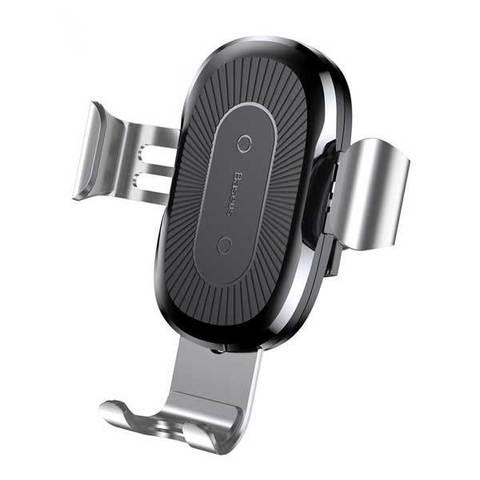 Автомобильный держатель с беспроводной зарядкой - Baseus Wireless Charger Gravity Car Mount
