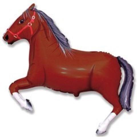 F Лошадь (темно-коричневая), 41