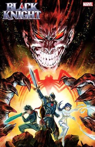 King in Black Black Knight #1 (Su Variant)