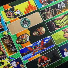 DEAD TIME Sticker Pack