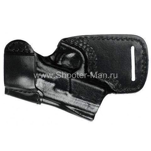 Кожаная кобура на пояс для пистолета Tanfoglio INNA ( модель № 10 ) Стич Профи
