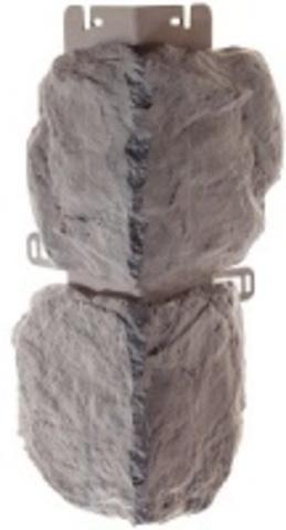 Наружный угол Альта профиль Бутовый камень Скандинавский 440х180 мм