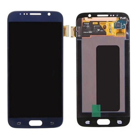 LCD SAMSUNG Galaxy S6 G920F + Touch Blue Orig