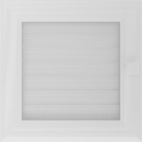 Вентиляционная решетка ОСКАР Белая (17*17) 17OBX