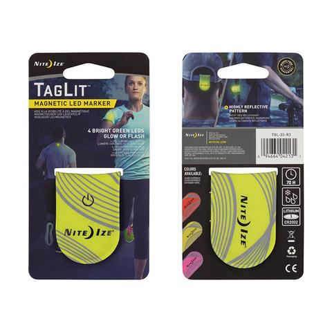 Светодиодный маркер Nite Ize TagLit Magnetic LED Marker желтый