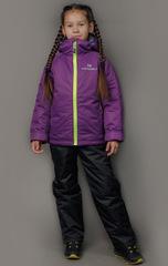 Детский тёплый прогулочный лыжный костюм Nordski Jr-Kids Motion Purple