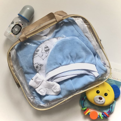 Набор одежды для новорожденных в роддом, мальчик, размер 62