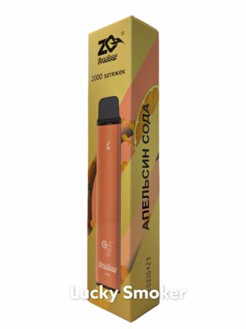 ZQ Freeebar (2000 затяжек) Апельсин Сода