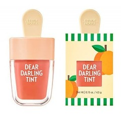Увлажняющий гелевый тинт для губ Etude House Dear Darling Water Gel Tint Apricot Red красный абрикос 4,5 гр