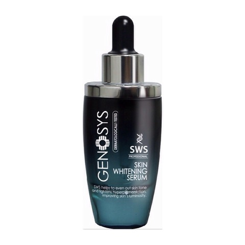 GENOSYS | Сыворотка осветляющая для борьбы с пигментацией / Skin Whitening Serum SWS, (30 мл)