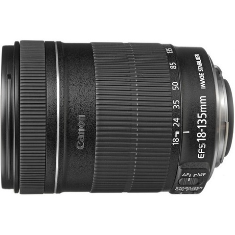 Объектив Canon EF-S 18-135mm f/3.5-5.6 IS Black для Canon