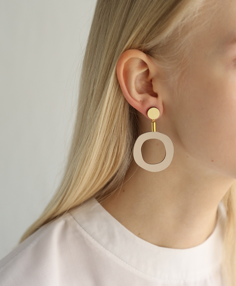 Серьги Jean I Earrings Ecru