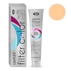 Оттенок абрикосовый металлик Крем-краситель для волос Lisaplex Filter Color 100мл