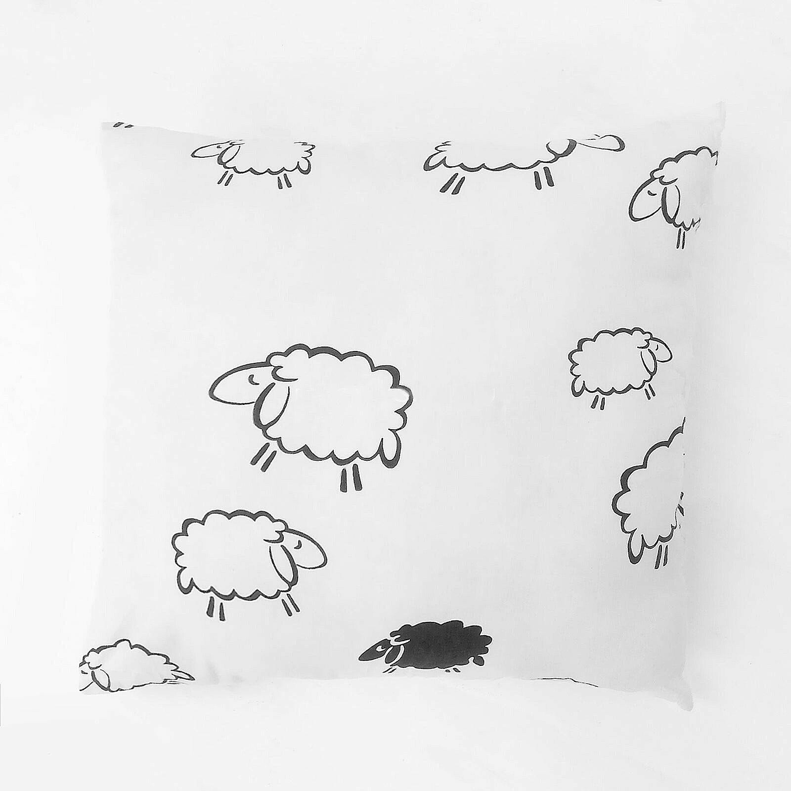 """Подушка """"Белые овечки"""""""