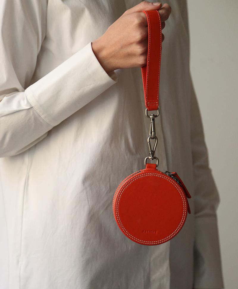 сумка-маленькая-круглая-красная