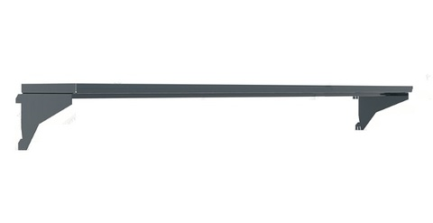 Полка навесная 1820х195х20h мм., для инструментальных панелей верстака