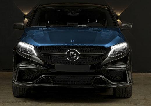 Карбоновый капот для Mercedes GLE