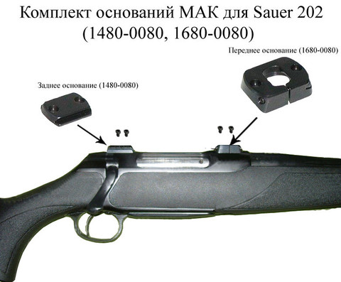 Основание МАК для Sauer 202(1480-0080,1680-0080)