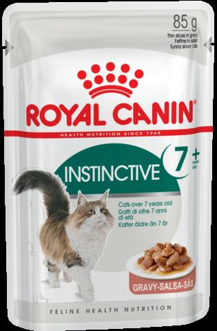 Royal Canin Instinctive 7+ соус для кошек старше 7 лет