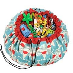 Коврик-мешок для игрушек (2 в 1) Play&Go Designer БАДМИНТОН 79970