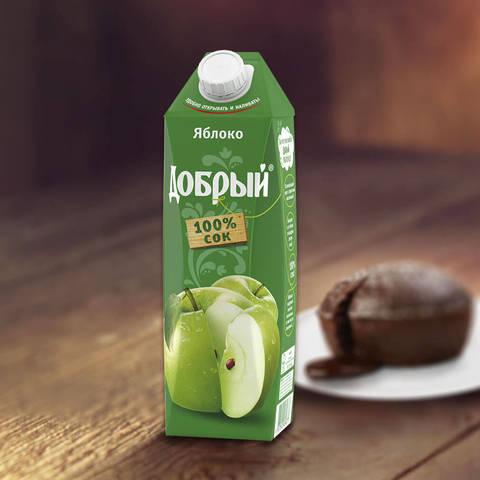 Сок добрый яблоко МИНИМАРКЕТ