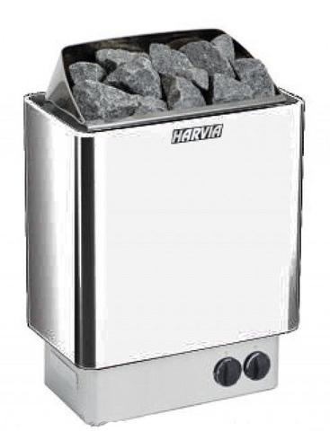 HARVIA Электрическая печь Trendi HBT800400S KIP80T Steel со встроенным пультом