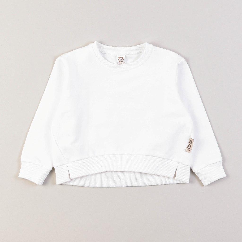Sweatshirt with slits - Tofu