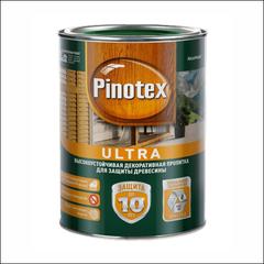 Пропитка для защиты деревянных оснований Pinotex ULTRA (тик)