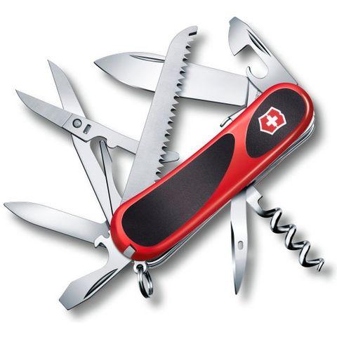 Нож перочинный Victorinox EvoGrip S17 (2.3913.SC) 85мм 15функций красный/черный