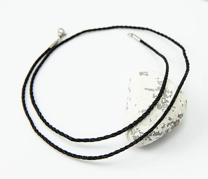 PL289-1 Плетеный шнур на шею из шелка фото 03