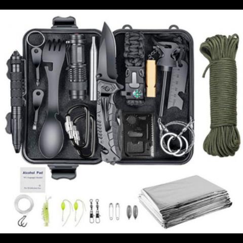 Набор для выживания 16 предметов (AGCY-08)