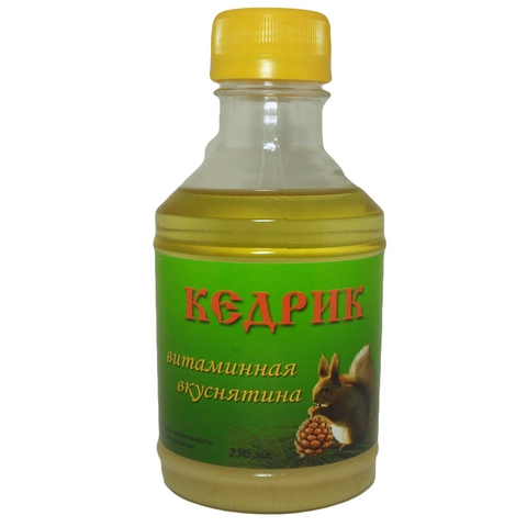 Питание кедровое КЕДРИК 250 мл (Медведь)