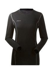 Bergans термобелье футболка 1865 Akeleie Lady Shirt Black