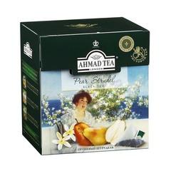 Чай черный Ahmad Грушевый штрудель 20 пирамидок