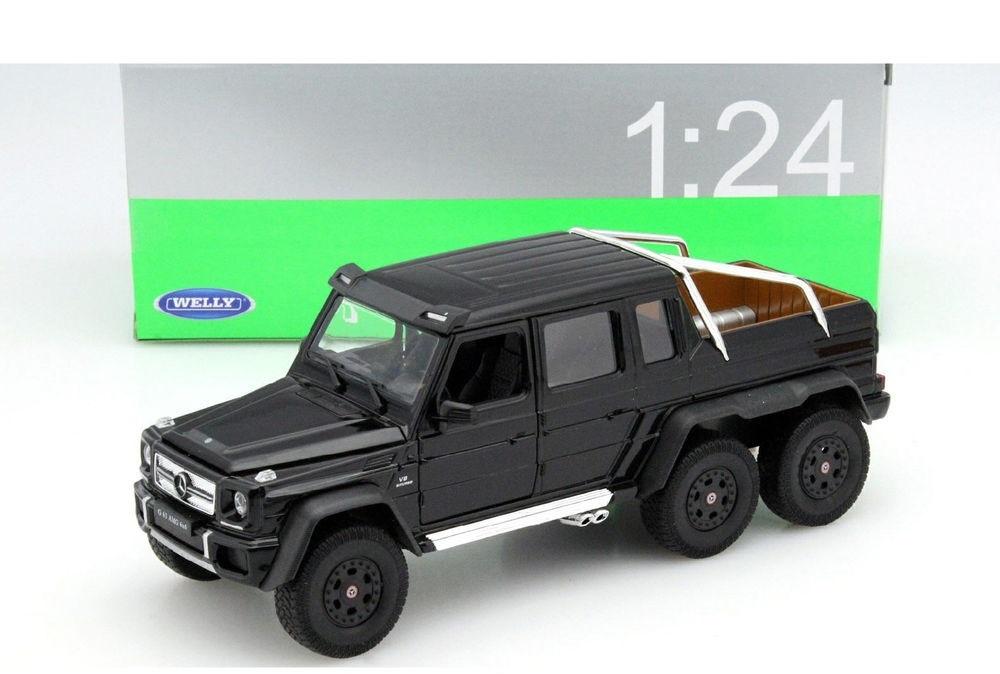 Машинка-игрушка Mercedes-Benz Gelandewagen AMG G63 6x6 2014 Black