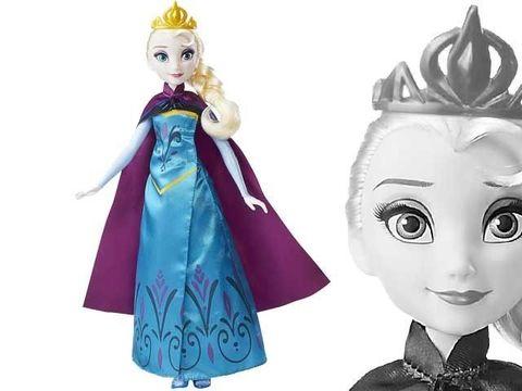 Эльза Холодное сердце, День королевы в магии кукол