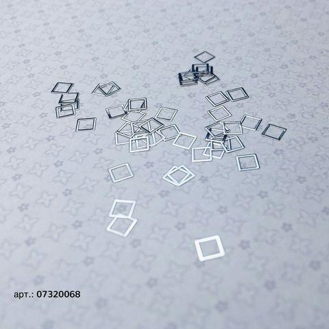 ARTEX квадрат серебро 0,3*0,3 см 07320068