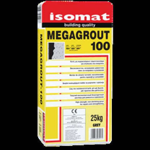 Isomat Megagrout 100/Изомат Мегаграут 100 высокопрочный безусадочный легко текучий жидкий ремонтынй раствор