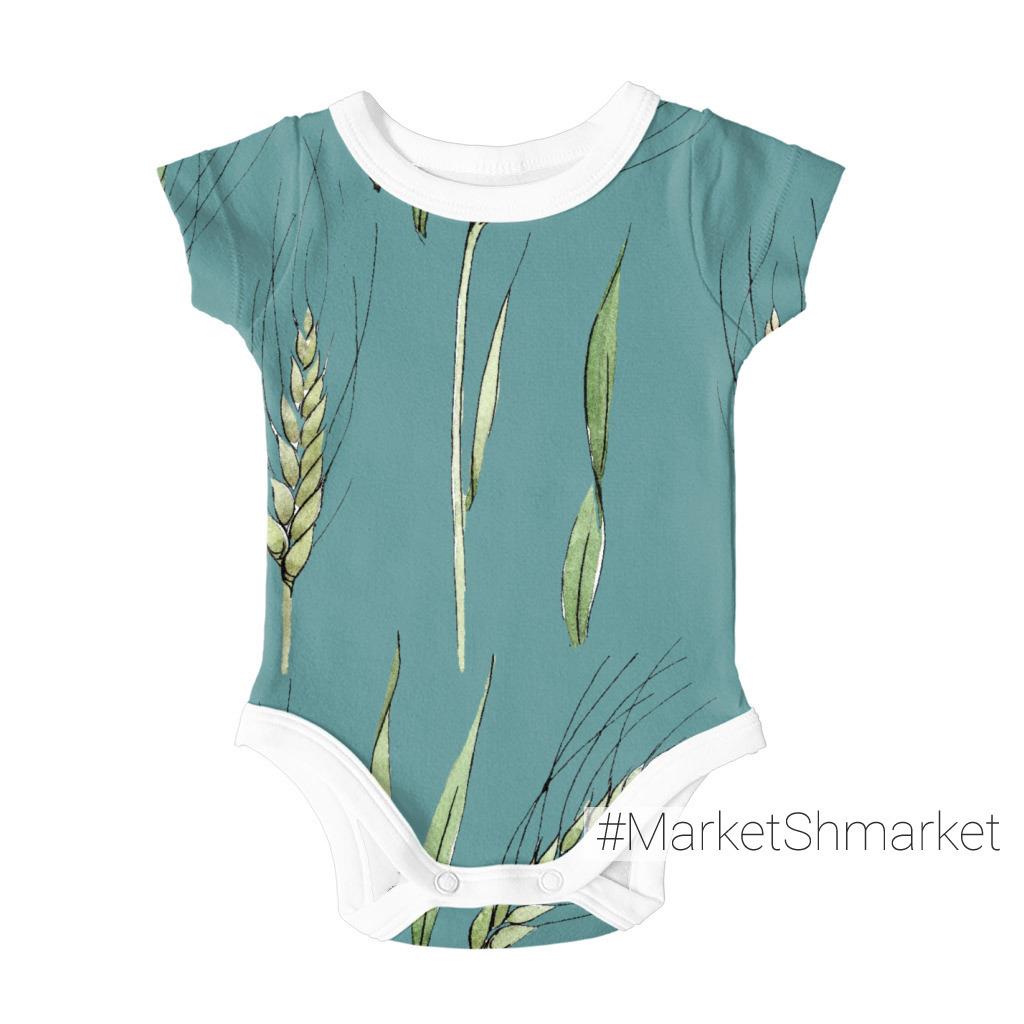 акварель №8 пшеница